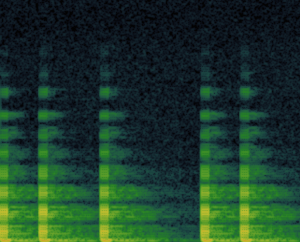 RFI - acoustic spectrogram